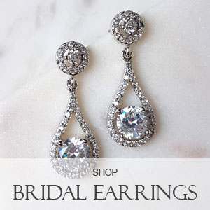 shop our bridal earrings collection
