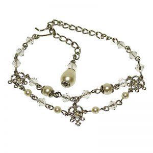 Silver Swarovski Crystal Bracelet – NATALIEblt