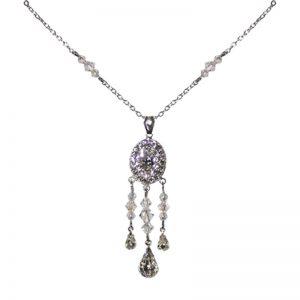 Swarovski Crystal Necklace – AMALIAnl