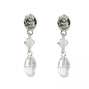 Rhinestone & Swarovski Earrings – NL50441SCH