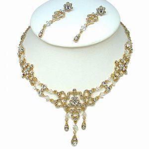 Gold Bridal Necklace Set – F2692GCH