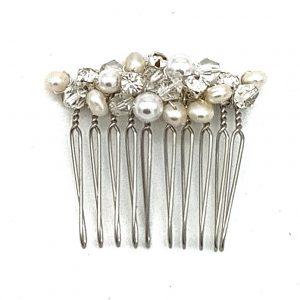 'Sam' Pearl Bridal Comb