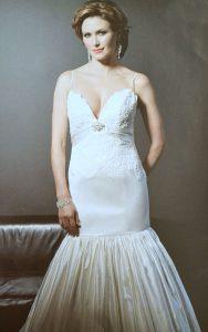 Dutchess Silk Lace Couture Wedding Dress