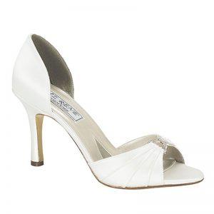 Silk Bridal Shoe – 'Marisol'