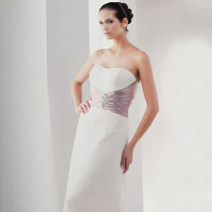 Ivory Strapless Bridal Gown – DA8071