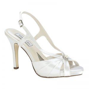 Satin Bridal Shoe – 'Brie'
