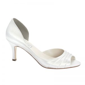 Satin Bridal Shoe – 'Nadia'