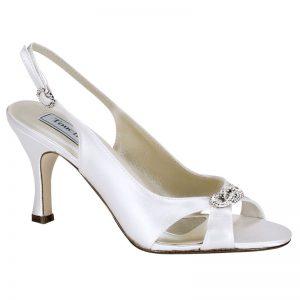 Satin Bridal Shoe – 'Taylor'