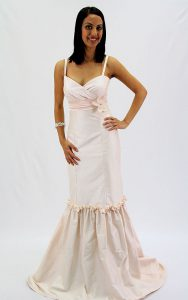 Silk Dupion Couture Bridal Gown