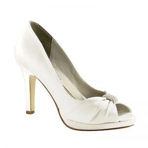 Silk Bridal Shoe – 'Jacqueline'