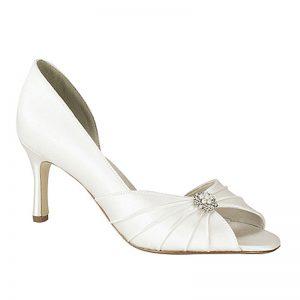 Silk Bridal Shoe – 'Melissa'