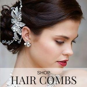 shop bridal hair combs