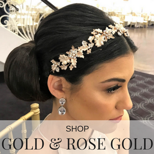 shop gold and rose gold hair accessories