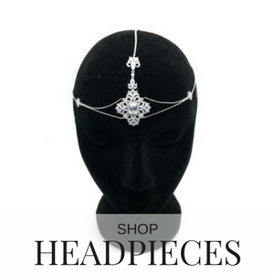 shop bridal headpieces
