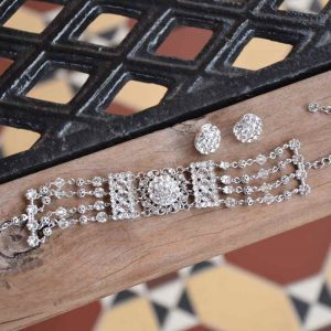 swarovski crystal bridal jewellery