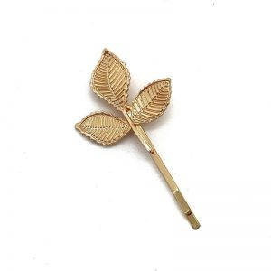 'Pamela' Gold Leaf Hair Pin