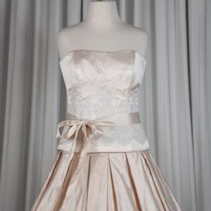 Pink Silk Bridal Gown – GC1001
