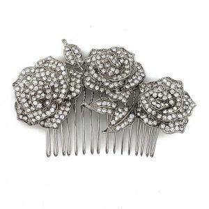 'Sassy' Diamante Hair Comb