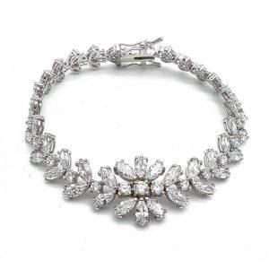 Silver Bridal Bracelet – TIF241WLD