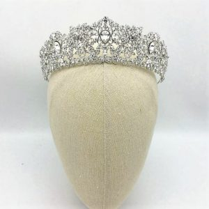 Tessa Royal Crown (Silver, Gold & Rose Gold)