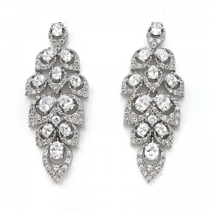 Bridal Earrings – BE85170WCH
