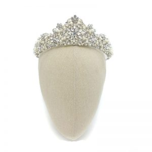 Pearl Bridal Crown – Torrie