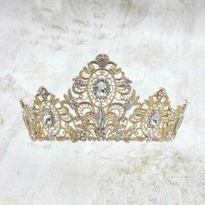Wedding Crown – Themis (Gold)