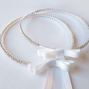 Cherish Silver Wedding Crowns