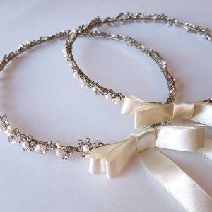 Eternity Pearl Stefanas (Rhodium Silver)