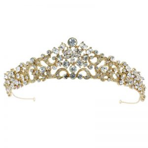 Gold Tiara – Amy (Gold)