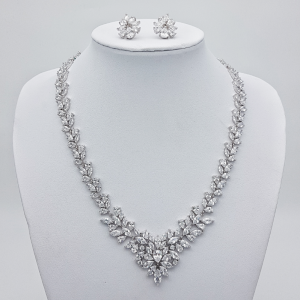 statement bridal necklace set