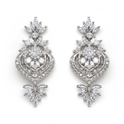 large bridal earrings